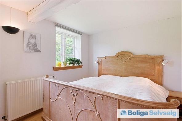 Soveværelse i det gamle stuehus