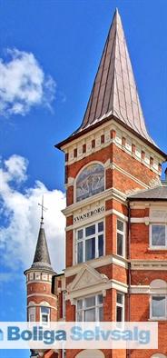 Mærk historiens vingesus i Svaneborgens tårnværelse