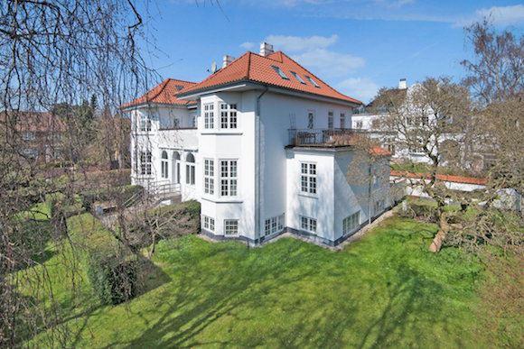 Her ses Valbys dyreste villa. Foto: Claus Borg & Partner