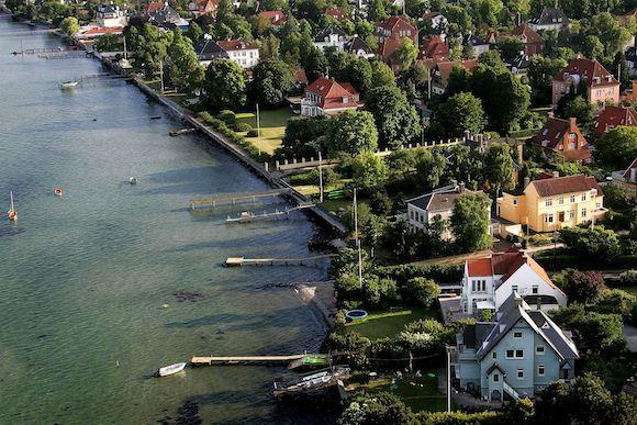 I Hellerup er der solgt en villa til 70,5 millioner kroner. Foto: Søren Bidstrup, Scanpix