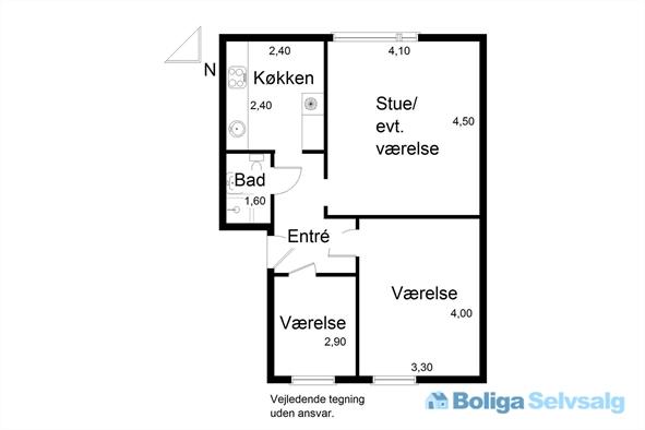 Jens Baggesens Vej 1, 1. th., 8210 Aarhus V